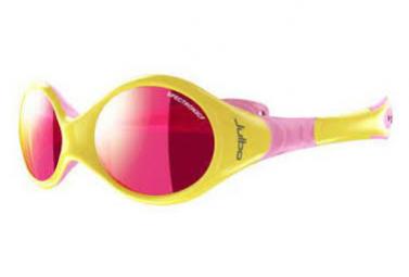 Image of Lunettes de soleil enfant julbo looping 2 jaune rose