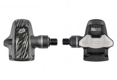 Pedales automaticos look keo blade carbon ceramic tour de france negro gris