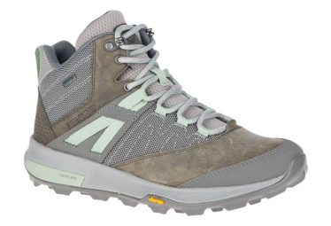 Merell Zion Mid Gore Tex Gris Mujer 38