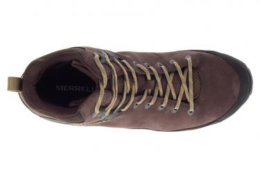 Chaussures de Randonnee Merrell Cham 8 LTR Mid GTX Marron Homme