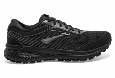 Zapatillas Brooks Running Ghost 12 Large 2E para Hombre Negro