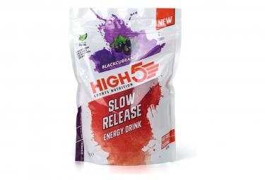 Boisson Énergétique High5 Slow Release Energy Cassis 1kg