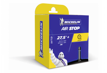 Chambre à Air Michelin AirStop MTB 27.5'' Plus Schrader
