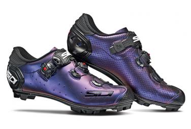 Chaussures VTT Sidi Jarin Bleu Rouge Iridescent