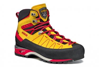 Chaussures de randonn e piz gv jaune rouge 46