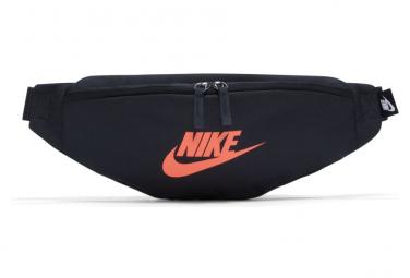 Image of Ceinture banane nike sportswear heritage noir orange