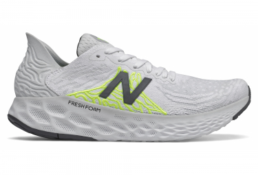 Zapatillas New Balance Fresh Foam 1080 V10 para Mujer Blanco / Amarillo
