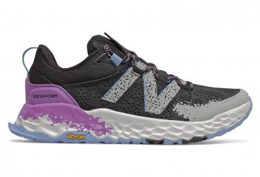 Zapatillas New Balance Fresh Foam Hierro V5 para Mujer Negro / Blanco / Púrpura