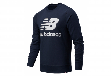 Sudadera Azul Con Logo De New Balance Essentials Xl