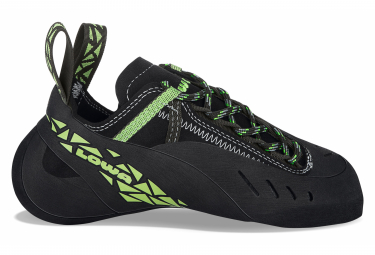Image of Chaussons d escalade lowa rocket lacing noir vert unisex 41 1 2