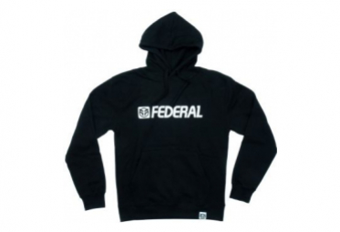 SWEAT FEDERAL OG LOGO HOOD BLACK