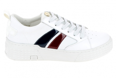 Basket mode, SneakerBasket -mode - Sneakers PALLADIUM Ego NPA Blanc Bleu Rouge