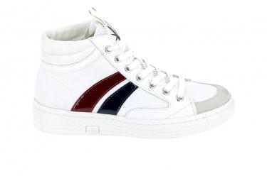 Basket mode, SneakerBasket -mode - Sneakers PALLADIUM Tempo Blanc Bleu Rouge