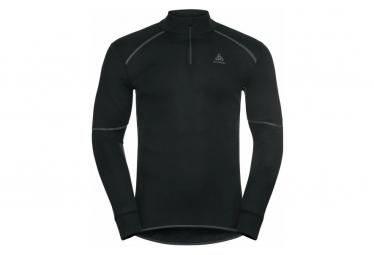 Langarm Jersey 1/2 Reißverschluss Odlo Active X-Warm Eco Black