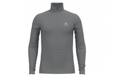 Maillot Manches Longues 1/2 Zip Odlo Active Thermic Gris