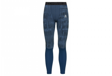 Collant Long Odlo Blackcomb Bleu
