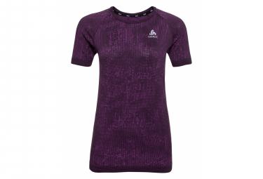 Short Sleeves Jersey Odlo Blackcomb Pro Purple Women M