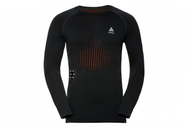 Maillot Manches Longues Chauffant Odlo I-Thermic Noir