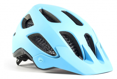 Casco MTB Bontrager Rally WaveCel Grigio Sky Blue / Navy