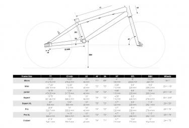 BMX Race Chase Edge Junior Alu 18.75 Noir / Rouge 2021