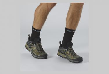 Chaussures de Randonnée Salomon X Ultra 3 GTX Vert / Gris