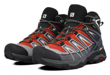 Salomon X Ultra 3 Mid GTX Red / Black