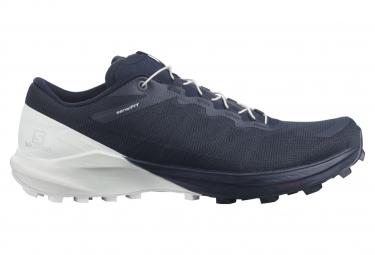 Chaussures de Trail Femme Salomon Sense 4 Pro Bleu / Blanc