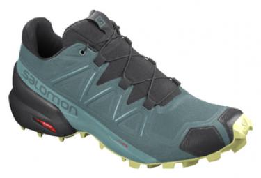 Chaussures de Trail Femme Salomon Speedcross 5 Vert / Noir
