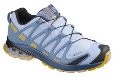 Zapatillas Mujer Trail Salomon Xa Pro 3d V8 Gtx Azul 40