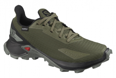 Salomon Alphacross Blast CSWP Green / Black