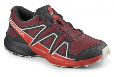 Chaussures Enfant Salomon Speedcross J Rouge / Noir