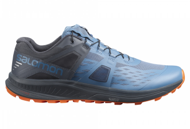 Salomon Ultra Pro Blau / Orange Trail Schuhe