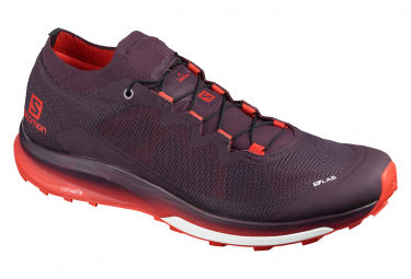 Salomon S / LAB Ultra 3 Trail Shoes Red Unisex
