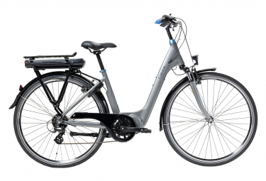 Vélo de Ville Électrique Gitane  Organ'e Central 400 Wh Shimano Tourney/Altus 8V 400 Gris 2020