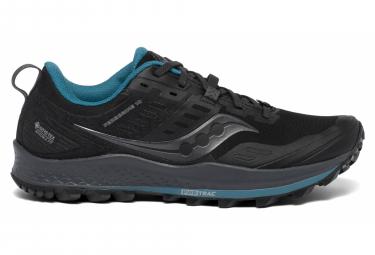 Zapatillas Saucony Peregrine 10 GTX para Mujer Negro / Azul