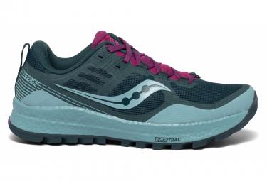 Chaussures de Trail Femme Saucony Xodus 10 Bleu / Rose