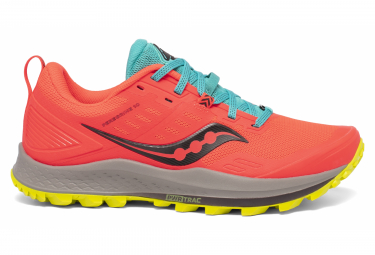 Saucony Peregrine 10 Mutant Orange Frauen