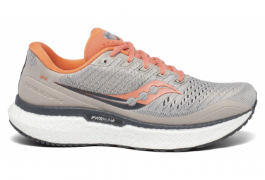 Saucony Triumph 18 Coral Grey Mujer 37 1 2