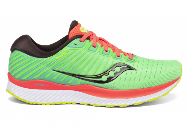 Saucony Guide 13 Mutant Green Orange Men