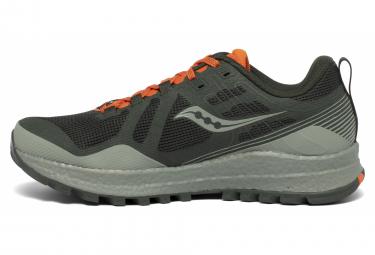 Chaussures de Trail Saucony Xodus 10 Vert / Orange