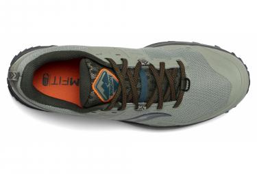 Chaussures de Trail Saucony Peregrine 10 Vert / Orange