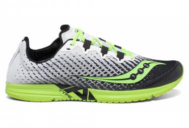 Paar Saucony Typ A9 Schuhe Weiß Grün