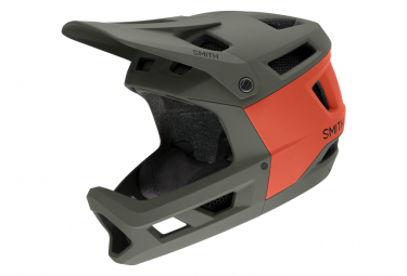 Image of Casque integral smith mainline mips gris rouge l 59 62 cm