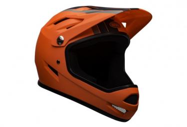 Casque Intégral Bell Sanction Orange Noir 2020