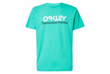 T-Shirt Manches Courtes Oakley Tnp Fiery Vert Menthe