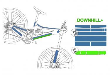 Clearprotect Pack Xxl Downhill   Kit De Proteccion Transparente Mate