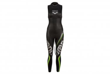 Arena Triwetsuit Carbon Sleveless Black Women