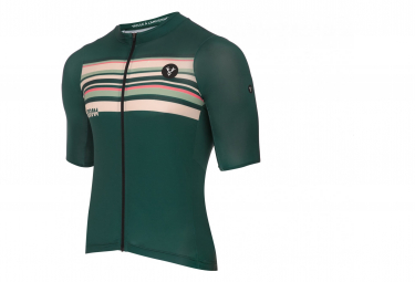 LeBram Arpettaz Green Short Sleeve Jersey Tailored Fit