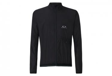Maillot Manches Courtes Oakley Aro Jacket 2.0 Noir