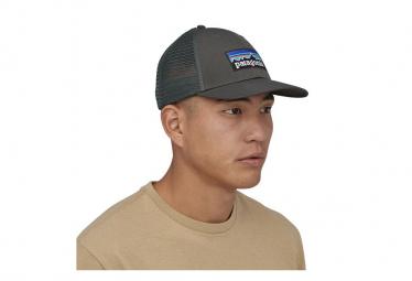 Casquette Patagonia P-6 Logo LoPro Trucker Hat Gris